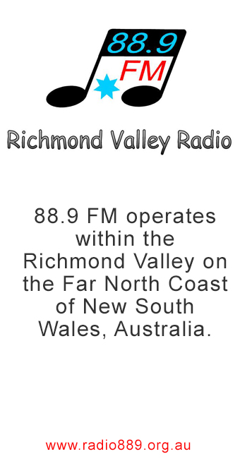 88.9 FM Radio Lismore, Lisomore News, Casino NSW Radio, Kyogle News, Music Lismore, News Ballina, news and events Kyogle, News and Events Casino, News and events Lismore, News and Events Ballina, News and Events Byron Bay, News and Events Grafton, Advertising Kyogle, Advertising Casino, Advertising Lismore, Advertising Byron Bay, Advertising Ballina, Kyogle Classifieds, Lismore Classifieds, Casino Classifieds, Byron Bay Magazine, Magazine Casino, Lismore Weather
