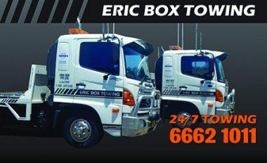 Eric Box Towing Casino NSW