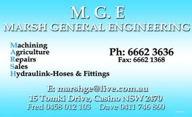 M.G.E. Marsh General Engineering
